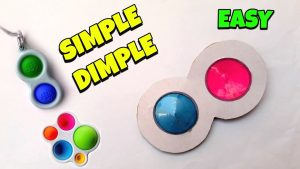 What is Simpl Dimpl Fidgets and how does it work?