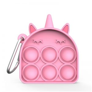 Pink-Unicorn-Keychain-Simple-Dimple-Fidget-Toy-Pop-It