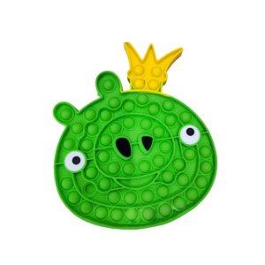 Angry Bird Pig Pop It Fidget Toy