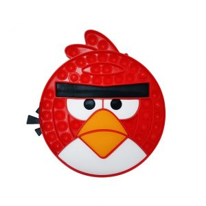 Angry Bird Red Pop It Fidget Toy Simple Dimple