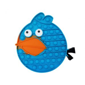 Angry Bird The Blue Pop It Fidget Toy Simple Dimple