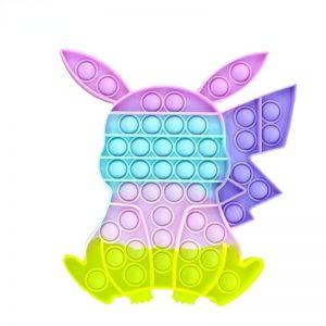 Pokemon Pikachu Pop It Fidget Toys Simple Dimple
