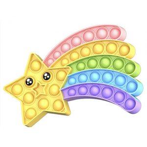 Star Pop It Fidget Simple Dimple Anti Stress Toy