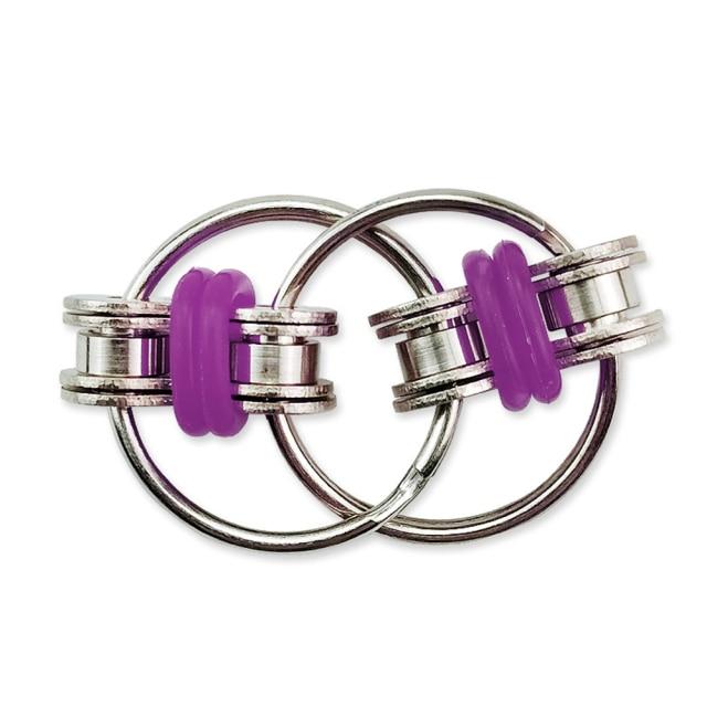 Decompression Bike Chain Fidget Finger Spinner Sensory Toy Metal Puzzle Keychain Give Children Best Enlightenment Toy 2.jpg 640x640 2 - Simple Dimple Fidget