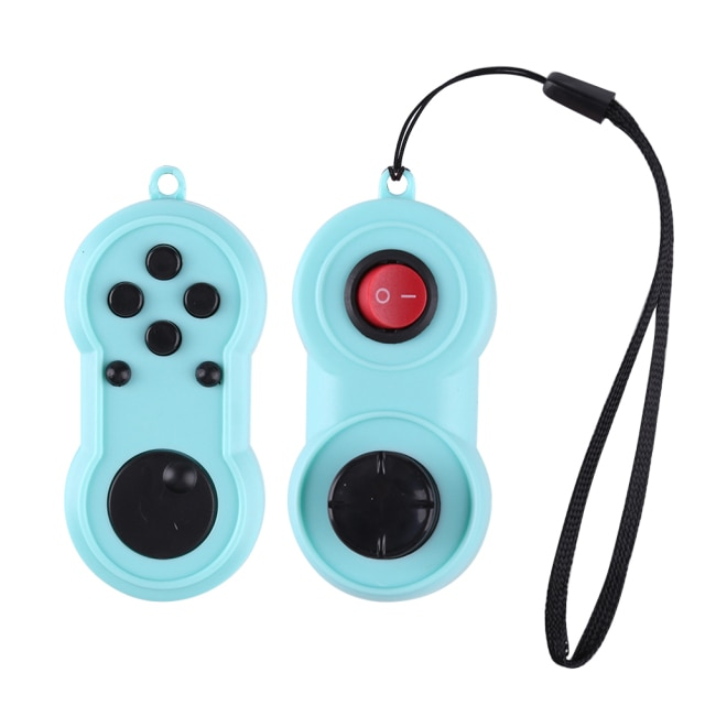 Game Rainbow Handle Plastic Controller Toys Anxiety Stress Relief Hand fidget Pad Key Mobile Phone Antistress 1.jpg 640x640 1 - Simple Dimple Fidget